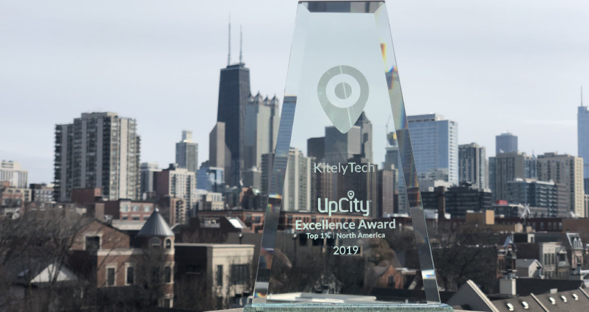 UpCity Excellence Award 2019
