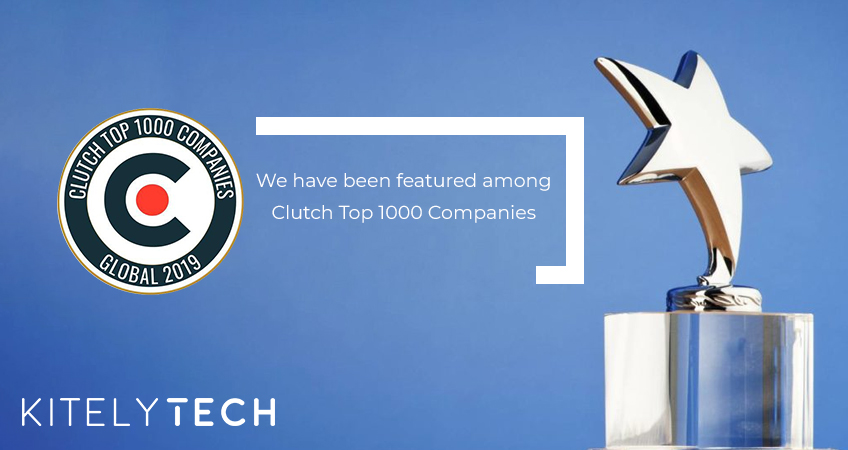 KITELYTECH PROUD TO BE NAMED ON CLUTCH 1000